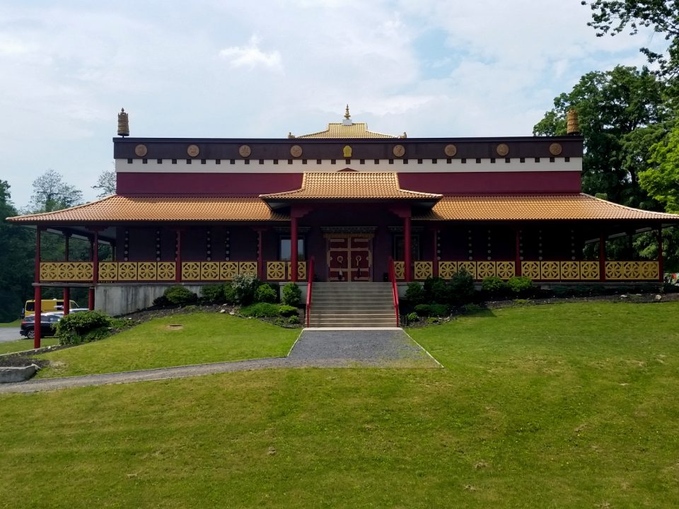 Buddhist Temple Front